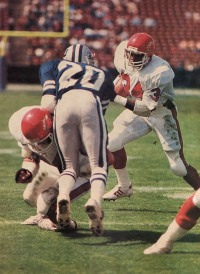 Herschel Walker in his pro debut