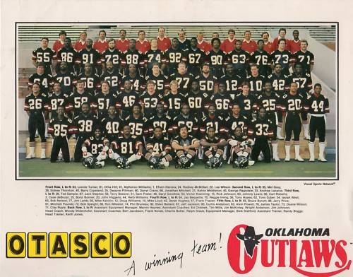 1984 Oklahoma Outlaws